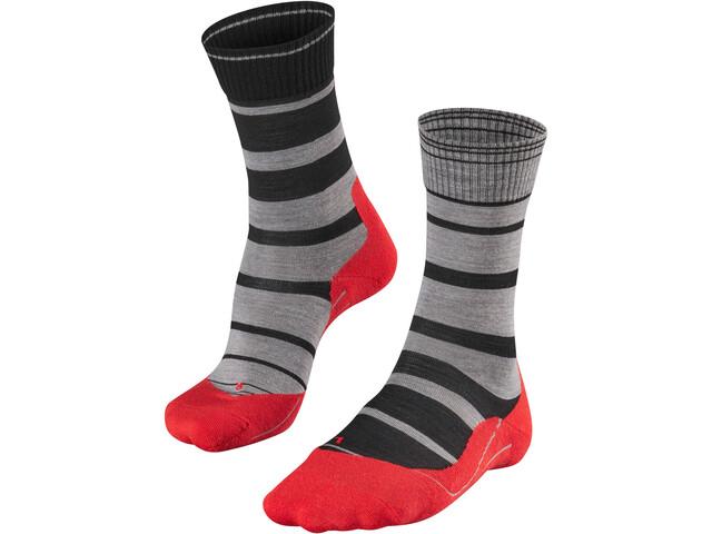 Falke M's TK 5 Stripe Trekking Socks Black